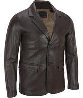 Wilsons Leather Mens 2-Button Lamb Blazer