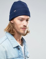Patagonia Fisherman's Rolled Beanie In Navy