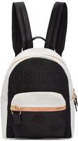 Kenzo Black and White Kombo Backpack