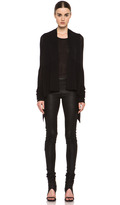 Rick Owens Long Wrap in Black