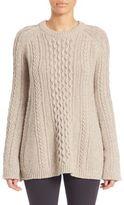 Theory Lewens Loryfelt Wool Sweater