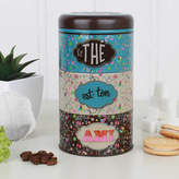Dibor Colour Pop Tea, Coffee And Sugar Stacking Canisters
