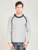 Discovered Grey L/S Reversible Sweatshirt