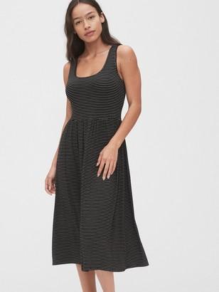 Gap Scoopneck Midi Dress