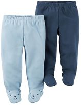 Carter's Baby Boy 2-pk. Babysoft Footed Pants