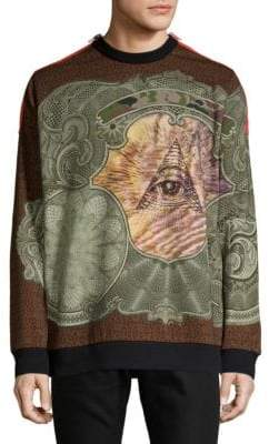 Givenchy Printed Cotton Sweatshirt