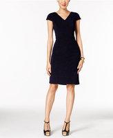 Betsey Johnson Metallic Sheath Dress
