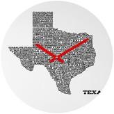 DENY Designs Texas Cities Decorative Clock