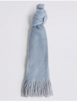 M&S Collection Double Brushed Scarf