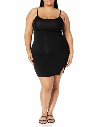 Forever 21 Women's Plus Size Slit Cami Dress