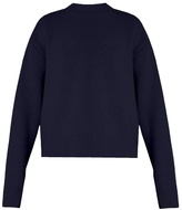 Raey Displaced-sleeve cropped wool sweater
