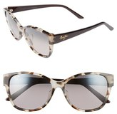 Maui Jim Women's Summer Time 54Mm Polarizedplus2 Cat Eye Sunglasses - Olive Tokyo Tortoise
