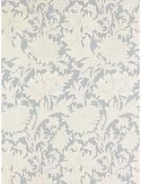 Blue & Cream Morris & Co Chrysanthemum Toile, China Blue / Cream, DMOWCH101
