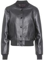 Rag & Bone Leather varsity jacket