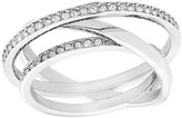 Swarovski Spiral Ring - Size 52 (US 6)