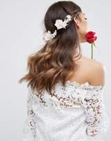 Asos Wedding Soft Flower Back Hair Clip
