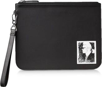 Karl Lagerfeld Paris Legend Essential Clutch