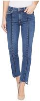 Paige Vintage Julia w/ Uneven Hem in Felice Women's Jeans