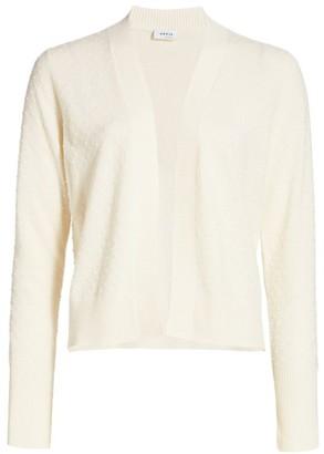 Akris Punto Knit Dot Wool & Cashmere Cardigan