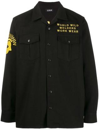 U.P.W.W. long sleeved cotton shirt