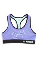 Under Armour Girl's Logo Armour Sports Bra