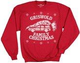 Ripple Junction Christmas Vacation Griswold Family Christmas Men's Crewneck Sweatshirt
