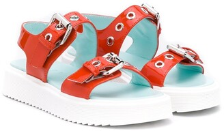 Marni TEEN buckled-straps sandals