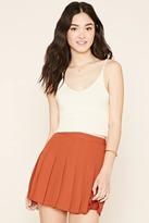 Forever 21 FOREVER 21+ Pleated Mini Skirt