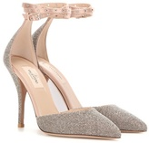 Valentino Garavani Love Latch Swarovski Crystal-embellished Pumps