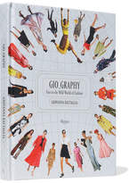 Rizzoli Gio_graphy: Fun In The Wild World Of Fashion Hardcover Book - White