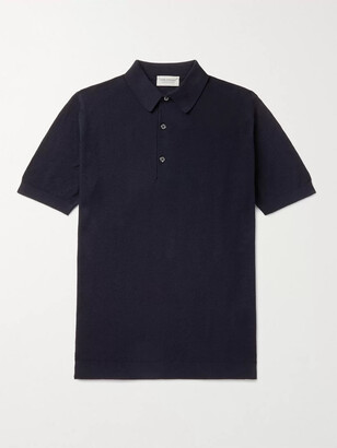 John Smedley Roth Sea Island Cotton Polo Shirt