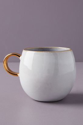 Anthropologie Gilded Lilac Mug By in Purple Size MUG/CUP
