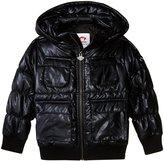 Appaman Gambit Puffer Coat (Toddler/Kid) - Black Steel - 6