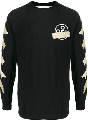 Off-White Tape Arrows long-sleeved T-shirt