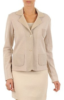 Majestic 244 women's Jacket in Beige