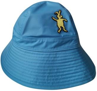 Marni Blue Cloth Hats & pull on hats