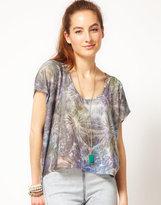 WKSHP Big Bang Boxy Cropped T-Shirt