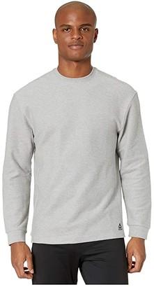 Reebok Training Essentials Twill Crew (Black) Men's Clothing