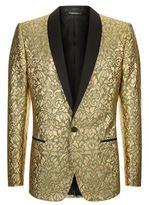 Dolce & Gabbana Embroidered Lamé Suit Jacket