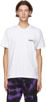 Neighborhood White Dr. Woo Edition Arrow T-Shirt