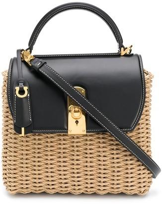 Salvatore Ferragamo Boxy top-handle bag