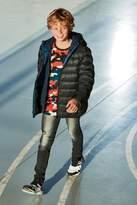 Next Boys Denim Grey Distressed Super Skinny Jeans (3-16yrs)