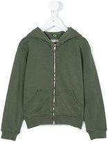 Macchia J Kids - zipped hoodie - kids - Cotton - 4 yrs