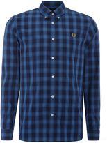 Fred Perry Tartan Gingham Mix Shirt