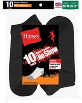 Hanes Boys' Little Boys' 10-Pack No Show