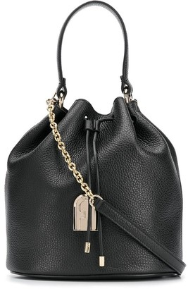 Furla Sleek chain-strap bucket bag