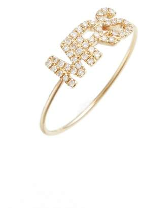 Ef Collection Mrs. Diamond Ring