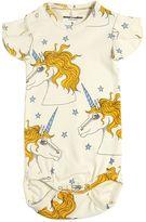 Mini Rodini Unicorns Organic Cotton Jersey Bodysuit