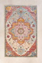 Urban Outfitters Crystal Floral Tufted Rug