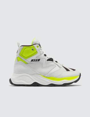 MSGM High Top Chunky Sneakers